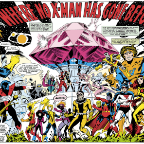 AND THEN THINGS GOT AWESOME. (X-Men #107)