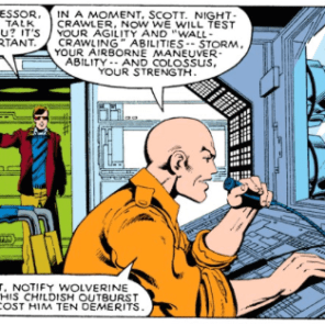 You know that thing where you visit your parents and they still try to ground you after you stay out late, even though you're 30? (X-Men #129)