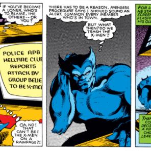 Beast is a good bro. (X-Men #133)