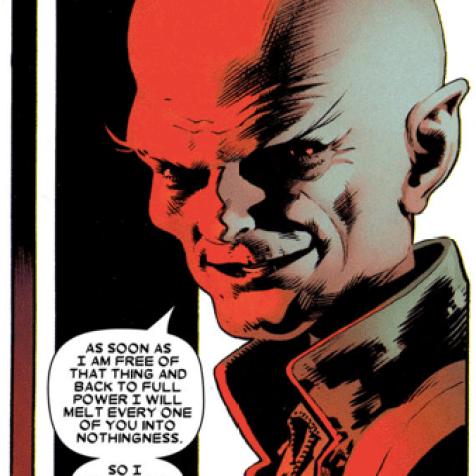 Cassandra Nova: The worst evil disembodied parasitic sister ever.