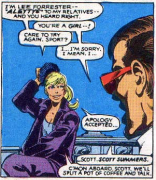 Lee Forrester takes shit from nobody. (X-Men #143)