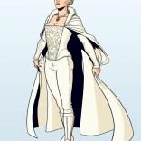 Jamie McKelvie's completely badass Emma Frost redesign.