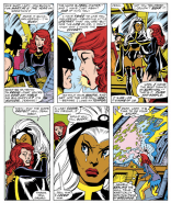 Aw. man. This whole scene. (X-Men #100)