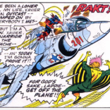 Welcome to the X-Men, Thunderbird! Hope you survive the... oh. (X-Men #95)