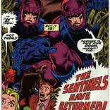 I don't know why they all look so surprised. (X-Men #98)