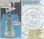 """That's Rachel Summers, sending Kitty Pryde's consciousness back in time in the original """"Days of Future Past"""" comic. (X-Men #141)"""