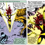 """Inexorable"" is a word we use a lot when talking about the Dark Phoenix Saga. This is one of those moments that can only lead in one devastating direction. (X-Men #135)"