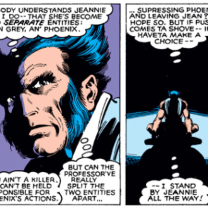 Again: Comics Wolverine > Movie Wolverine. (X-Men #137)