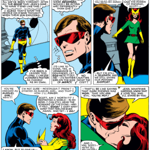 """I'll take 'scenes that always make Rachel tear up' for 200, Alex."" (X-Men #137)"