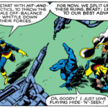 TEAMWORK! (X-Men #137)