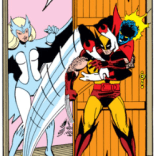 This isn't plot-relevant, We just think Nightcrawler's Scooby Doo moment is great. (X-Men #139)