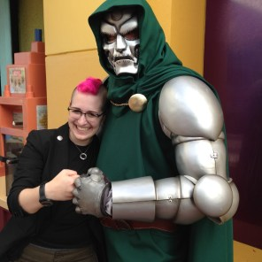 Rachel and Doctor Doom are bros.