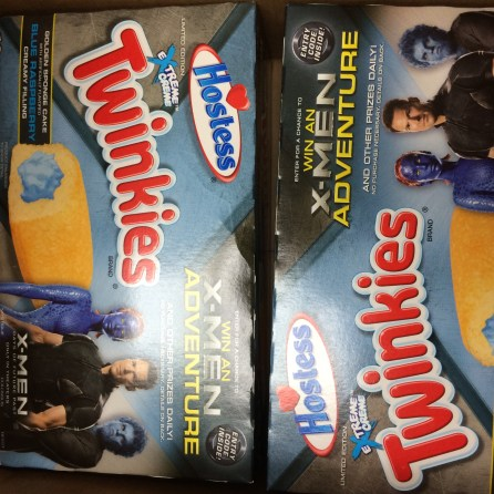 Along with Prydeslaught, Logan sent us two boxes of Twinkies of Future Past.