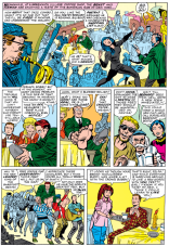 The Coffee-a-Go-Go made its debut in X-Men #7, along with regular Bernard the Poet and acerbic waitress Zelda.