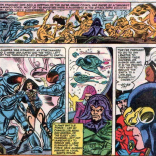 Corsair does a lot of X-Plaining this issue. (Uncanny X-Men #154)