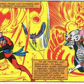 The Brood's arsenal includes a super rad op-art ray. (Uncanny X-Men #155)
