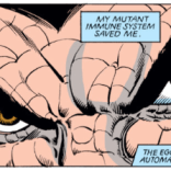 How cool would it have been if he'd kept this look? Hint: So cool. (X-Men #162)