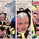 That moment when the Brood Saga could've become a really heavy-handed reproductive-rights allegory, and we're all really grateful that it didn't. (X-Men #164)