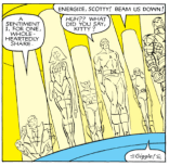 Our episode outline addresses this panel as follows: KITTY YOU ARE THE BEST NERD DOES CYCLOPS WATCH STAR TREK? DISCUSS. SHOW YOUR WORK. (X-Men #166)