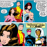 In which Kitty learns what the reader has known all along. (X-Men #167)