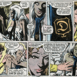 "Note that we are still classily refraining from making a ""gave her the D"" joke. (X-Men #159)"