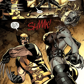 Comics industry: This is why we can't have nice things. This panel. Specifically. (X-Men #1)