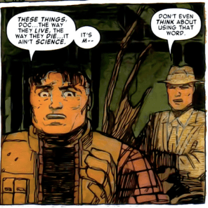 Jury's still out on this one. (X-Men: Smoke and Blood #1)