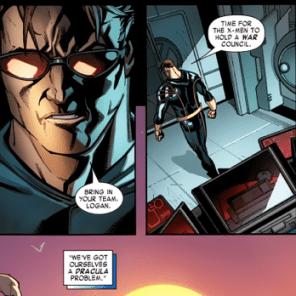 """""""WE'VE GOT OURSELVES A DRACULA PROBLEM."""" (X-Men #1)"""