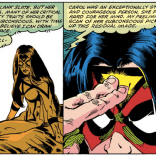 Fun fact: Jessica Drew is long-time buds with the X-Men. (Avengers Annual #10)