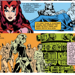 REMEMBER HOW THAT HAPPENED AND NONE OF THE AVENGERS SAW ANY PROBLEM WITH IT? (Avengers Annual #10)