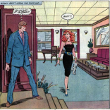 Scott and Jean are reunited in a panel that appears to have fled from Apartment 3-G to X-Factor #1.