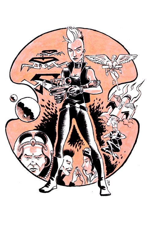 Ororo, Queen of the Galaxy, by David Wynne