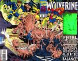 """""""Fatal Attractions"""" was a rough time for everyone, but probably worst for Wolverine. (X-Men vol. 2 #75)"""