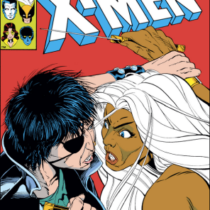 This cover is slashy in every sense of the word. (X-Men #170)
