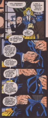 Charles Xavier of X-Men vol. 2 #30 is the best Charles Xavier.