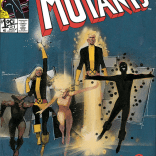 Over nearly a decade, the New Mutants will go from this... (New Mutants #21)