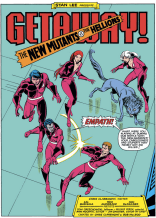 The Hellions. They're all super doomed. (New Mutants #17)