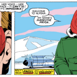 Meanwhile in Alaska, the most awkward meet-cute ever. (X-Men #168)