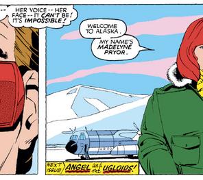 Meanwhile in Alaska, the most awkward meet-cute ever. (X-Men #168)