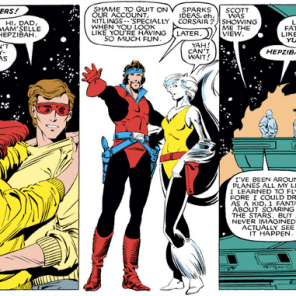 HEPZIBAH, NEVER CHANGE. (X-Men #174)