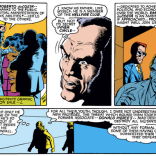 Gyrich realizes that part of the price of appearing in an X-Men book is occasionally having your conversation partner drop out for an extended inner monologue. (New Mutants #2)