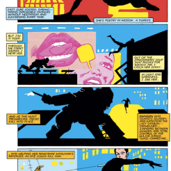 Taking a break from drooling over stylish fight scenes to drool over a stylish chase scene. (Wolverine #3)