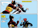 """Well, Kitty Pryde called me from Japan and then disappeared... BUT WHO COULD THIS INTANGIBLE MASKED OPPONENT POSSIBLY BE?"" (Kitty Pryde and Wolverine #3)"