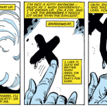 """Remember being fifteen and thinking """"Shadowcat"""" was a really good, really grown-up code name? (Kitty Pryde and Wolverine #4)"""