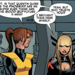 Kitty and Illyana sass is the best sass. (Wolverine and the X-Men #37)