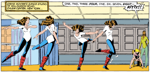 Art by Paul Smith, from Uncanny X-Men #168.