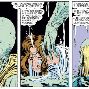 Aw, Leech. (X-Men #179)
