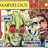 We are pretty into crossovers that come with convenient captioned character guides! (The X-Men and the Micronauts #1)