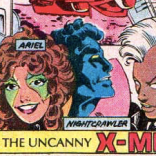This is Kitty's regular Ariel costume, so, no need to drink. Yet. (The X-Men and the Micronauts #1)