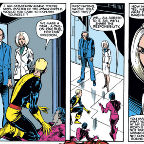 They may be evil, but they're not wrong. (New Mutants #17)